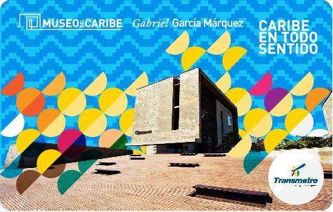 Transmetro lanza nueva tarjeta conmemorativa, dedicada al aniversario No.8 del Museo del Caribe Gabriel García Márquez